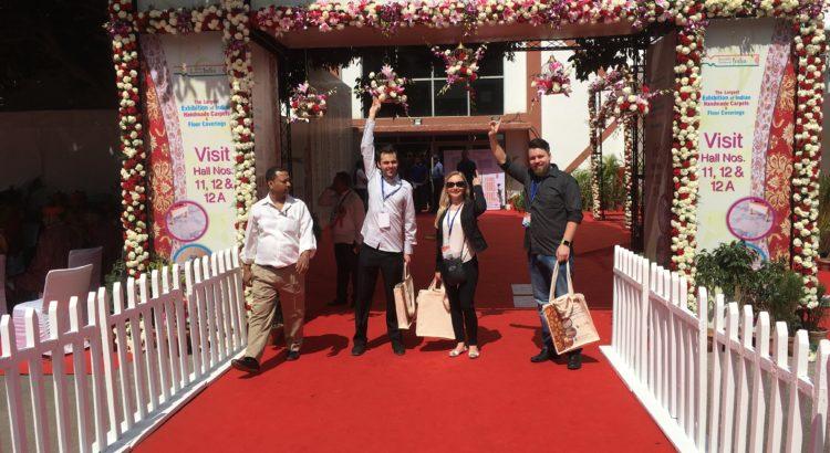 Kobercové expo Indie